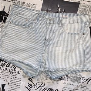 Striped Gap shorts